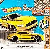 HOT WHEELS® Ford Mustang GT 2015 - 1:64 - gelb