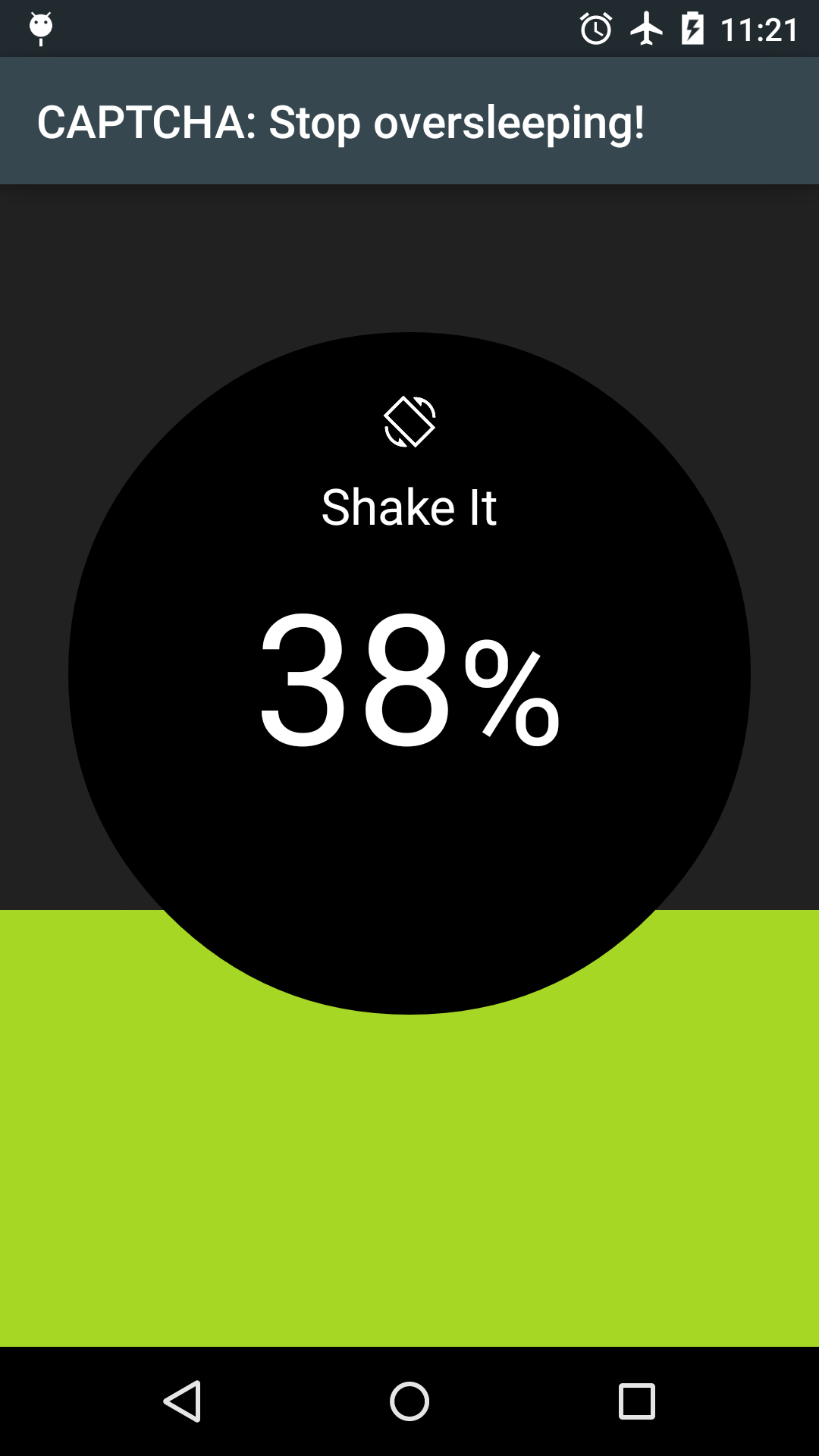 Sleep as Android Unlock Capture d'écran