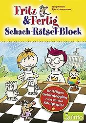 Fritz & Fertig - Schach-Rätsel-Block: KniffligesGehirnjoggingrundumdasKönigsspiel