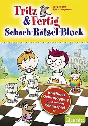 Preisvergleich Produktbild Fritz & Fertig - Schach-Rätsel-Block: KniffligesGehirnjoggingrundumdasKönigsspiel (Fritz & Fertig / Schach lernen)