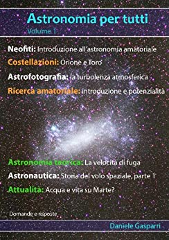 Astronomia per tutti: volume 1 di [Gasparri, Daniele]