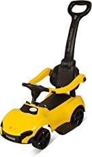 GoodLuck Baybee Ride on Push Car Toy (Yellow, 1-3 years)