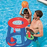 QYHSS Panier de Basket Flottant, Basket-Ball Water Hoop Piscine Flotteur, Piscine Gonflable Jouet, Sport Aquatique Jouet Piscine Jouets flottants, pour Les Enfants Adultes