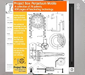 Build a Perpetuum Mobile yourself: Your project box includes 76 original patents as a fun way to reach your goal!