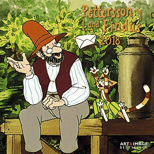 Pettersson 38; Findus 2018 - Kinderkalender, Kalender für Kinder - 30 x 30 cm