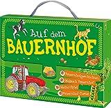 Kinderkoffer - Auf dem Bauernhof: Bauernhofgeschichten - Malbuch Bauernhof - Memo-Spiel - Bauernhof-Poster