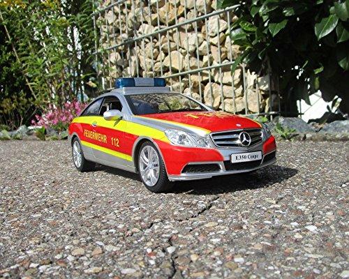 RC Auto kaufen Feuerwehr Bild 4: RC Feuerwehr Mercedes 2 er Set Antos 2,4 GHz 1:20 & Sprirtzfunktion 404960/7*