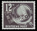 Briefmarken DDR 1949, Mi. Nr. 245, Tag der Briefmarke, Postfrisch