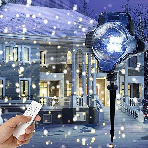 LED Xmas Lights Snowing Projecto...