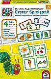 Schmidt Spiele 40576 Kleine Raupe Nimmersatt, Erster Spielspaß, Spiel