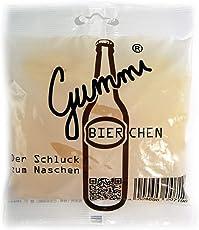 Monsterzeug Weingummi Bier Optik, Gummibierchen Zitronengeschmack, Fruchtgummi Bierflaschen, 150 Gramm