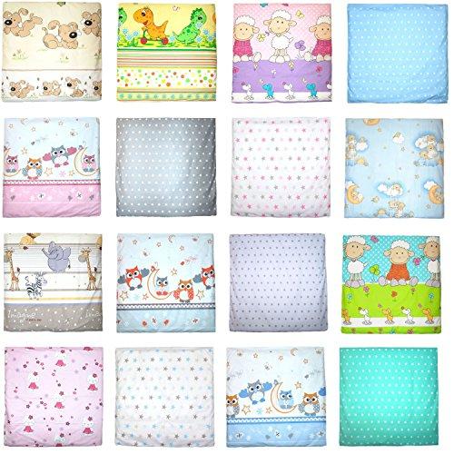 Deko Kissenbezug für Baby Kind Bezug für Kissen 80×80 cm