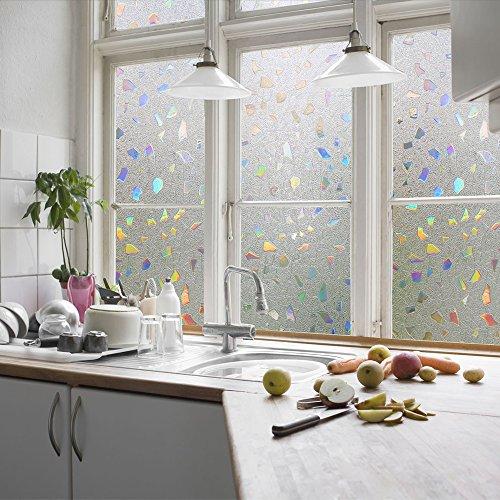 Zindoo pellicola adesive colorate 3d pellicole privacy per - Pellicole oscuranti per vetri casa ...
