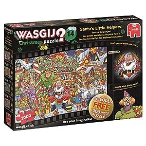Jumbo Wasgij Christmas 14 1000 pcs Puzzle - Rompecabezas (Puzzle Rompecabezas, Comics, Adultos, Niño/niña, 12 año(s), Interior)