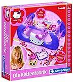 Clementoni 69858  Hello Kitty - Fábrica de pulseras con cuentas de Hello Kitty [Importado de Alemania]