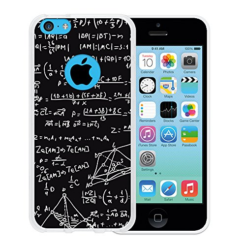 WoowCase Hülle Case für { iPhone 5C } Handy Cover Schutzhülle Schwarzer Basketballspieler Housse Gel iPhone 5C Transparent D0077