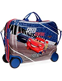 Disney Cars Central Equipaje Infantil, 50 cm, 34 Litros, Multicolor