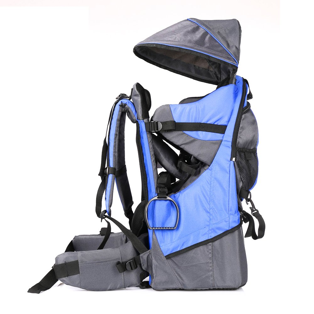 Baby toddler Hiking Carrier Backpack w// Raincover Child Kid Sun//canopy Shield