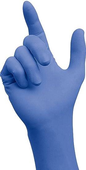 SEMPERGUARD Nitril Einweg-Handschuhe - EN374 CE Cat 3 - Größe: S ...