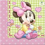 Disney Baby Minnie Maus Papier Servietten, 20Stück
