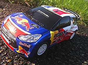 citroen wrc sebastien loeb radiocommande voiture rc 18 cm neuve jeux et jouets. Black Bedroom Furniture Sets. Home Design Ideas