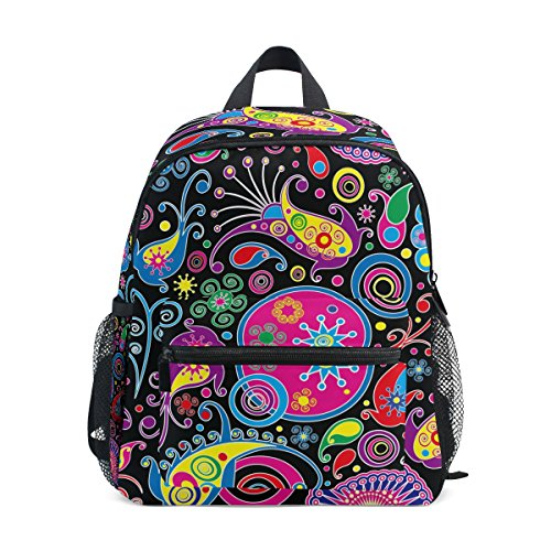 a7977ef4e1 Zzkko tribal exotic flower paisley kids backpack p the best Amazon ...