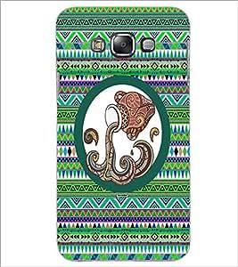 PrintDhaba Zodiac Aquarius D-5652 Back Case Cover for SAMSUNG GALAXY E7 (Multi-Coloured)