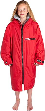 Dryrobe Advance LONG SLEEVE Change Robe - Stay Warm and Dry - Windproof Waterproof Oversized Poncho Coat - Swimming/Surfing/O