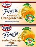 Dr. Oetker Finesse Ger. Orangenschale, (2 x 6 g)