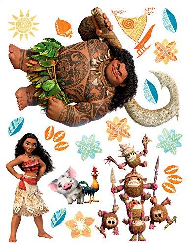 Stickers Vaiana La Légende du bout du Monde Disney - grand format