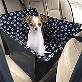 ZOOYAUE Wasserdicht Hund Autositz,Hund Autositzbezug Rücksitze Autoschondecke Autoschondecke mit Seitenschutz, Kratzfest Wasserfestes