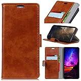 LG Q7 Case,LG Q7 Case,Leather Phone Cases Premium PU Leather Wallet Snap Case Leather Phone Cases Leather Phone Cases Flip Case Compatible With LG Q7 Brown