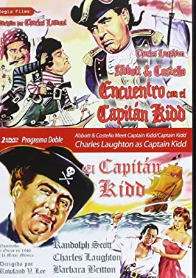 Pack: Captain Kidd + Abbott and Costello Meet Captain Kidd