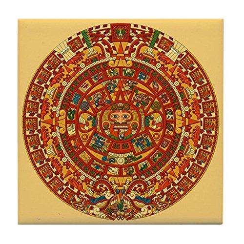 CafePress-Calendrier Aztèque Mexico Art-pour carrelage Dessous de Verre, dessous de boisson, petite Dessous de Plat -