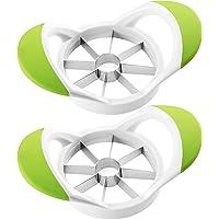 KICHLY Taglia Mela 2 Pack   Apple Slicer   Taglierina   Utensile a cuneo   100  resistente alla ruggine Acciaio Inox