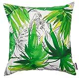 TOM TAILOR 564150 Kissenhülle T-Jungle, 50 x 50 cm, Baumwolle, grün