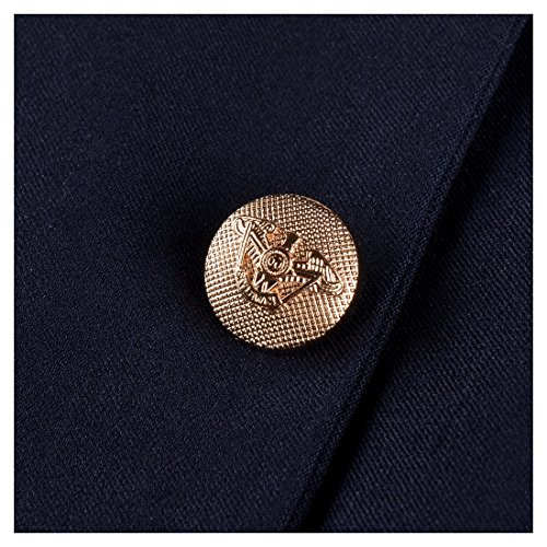Missmay Damen Rock mit Kn?pfe Stretch Abendkleid Bleistiftrock Knielang Kleid Blau Gr.S -