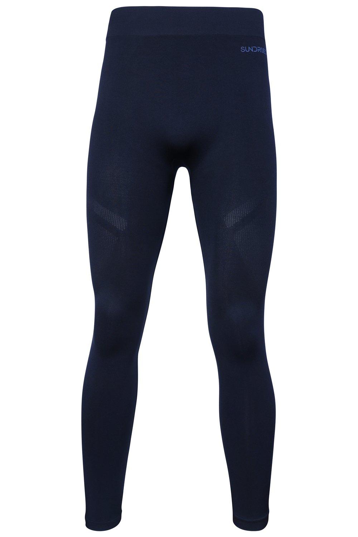 Sundried Collant formazione delle prestazioni maschile per Gym Yoga Sport che fanno funzionare - Mens inverno Leggings 3 spesavip