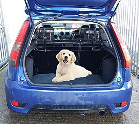 XtremeAuto® Fully Adjustable, Mesh Dog Guard for Rear/Boot/Trunk of car/vehicle