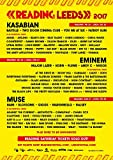 Import Posters Leeds/Reading Festival 2017 - Music Wall