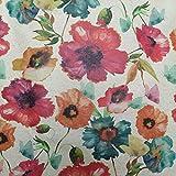 Staab's Beschichtete Baumwolle Bunte Blumen