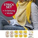 Myboshi Strick-Set Dreieckstuch Surprise: 5 xStrickwolle Lieblingsfarben No.2