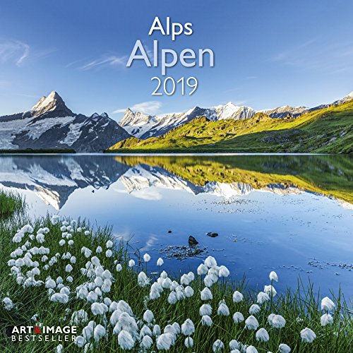 Alpen 2019 Broschürenkalender: Alps