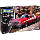 Revell Ford Mustang Gran Torino Starsky und Hutch Rot 1968-1976 07038 Bausatz Kit 1/25 1/24 Modell Auto