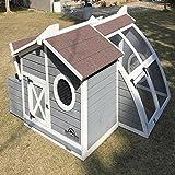 Pets Imperial® Grigio Ritz pollaio pollaio pollame Nest box Ark conigliera Run