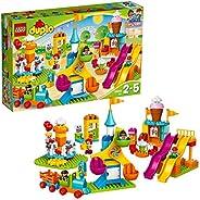 LEGO 10840 DUPLO Großer Jahrmarkt mit Zug & Rut