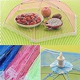 fomccu Food Bezüge Regenschirm Style Sechseck Anti Mückenschutz Küche Kochen Werkzeug für Mahlzeit Drink Fruit Picknick