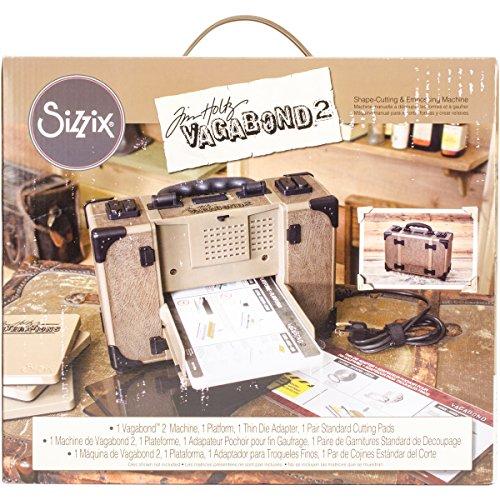 Sizzix 660855Vagabond 2Maschine inspiriert von Tim Holtz -