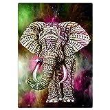 Nelnissa Diamant, Elefant Gemälde Stickerei DIY 5D Diamant Set Art Decor