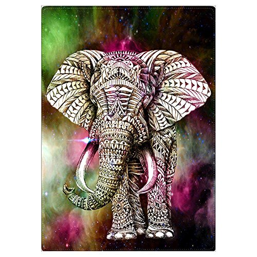 Nelnissa Diamant, Elefant Gemälde Stickerei DIY 5D Diamant Set Art Decor (Perlen Malerei)